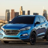 2017 Hyundai Tucson NIGHT model CUV special edition additions