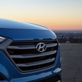 2017 Hyundai Tucson NIGHT model CUV special edition grille