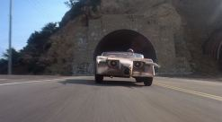 The Bull emerges from tunne Death Race 2000 film carl