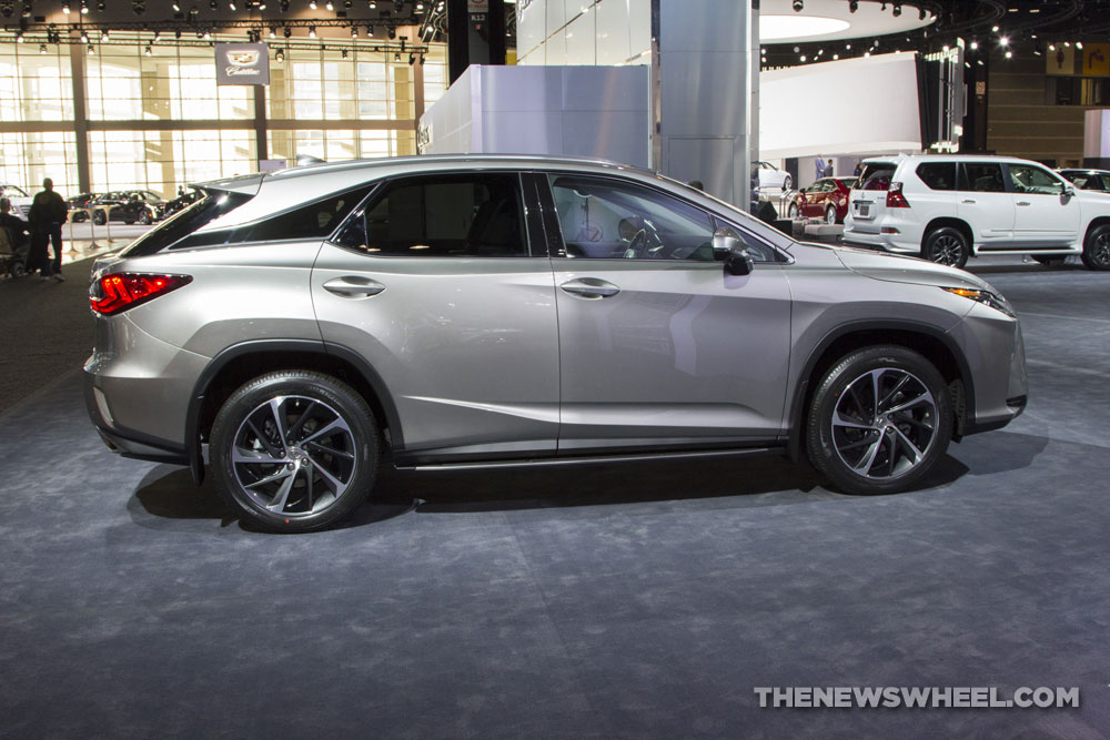 2017 Lexus RX Overview The News Wheel