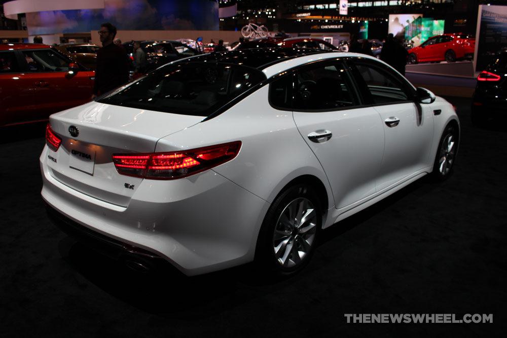 White 2017 Kia Optima The News Wheel