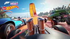 Hot Wheels Forza Horizon 3 Expansion Pack footage Xbox video game car racing download preview