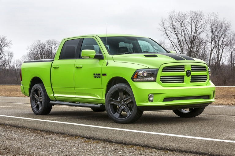 Ram Adds Sublime Lime Green And Blue Streak Color Schemes