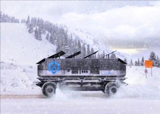 GM SURUS hydrogen vehicle concept