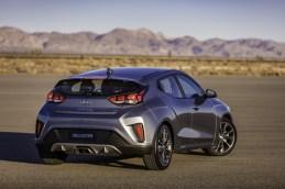2019 Hyundai Veloster hatchback car redesign generation exterior rear grey