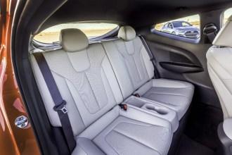 2019 Hyundai Veloster hatchback car redesign generation rear seats