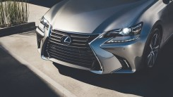 2018 Lexus GS 350 shown in atomic silver gallery overlay