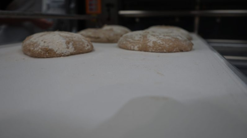 Dough waiting to be baked. (Credit: Roshan Nebhrajani/The New Tropic)