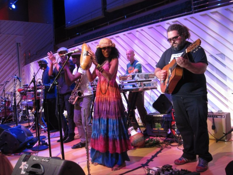 The Spam Allstars perform at New World Symphony in 2012. (Courtesy of Spam Allstars)