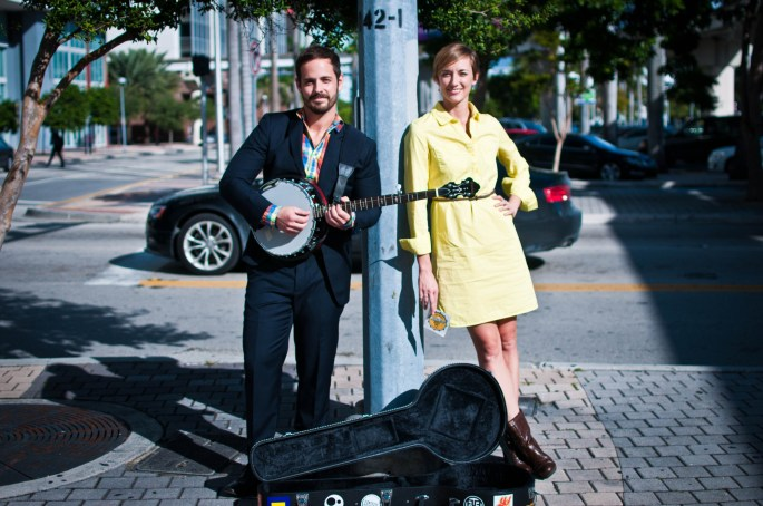 Justin Trieger and Amy San Pedro, founders of Buskerfest. (Courtesy of Buskerfest)