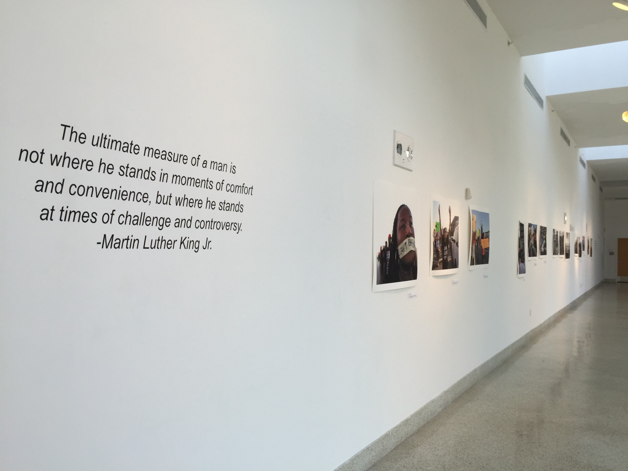 """The """"I Am A Man, Images of Protest"""" exhibition is currently on display at the Little Haiti Cultural Center"""
