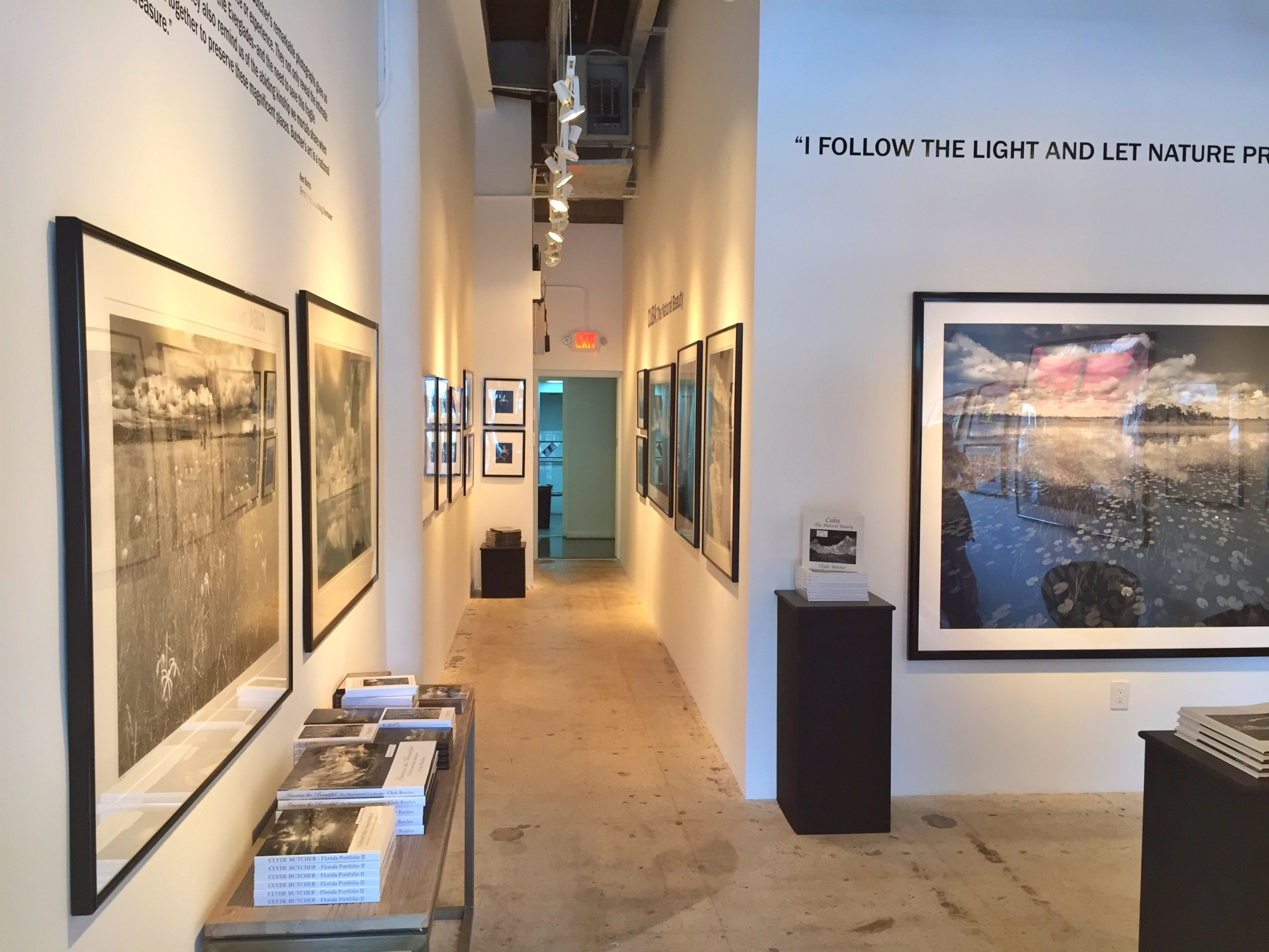 Clyde Butcher Gallery at the Engle Building. (Webber Charles photo)