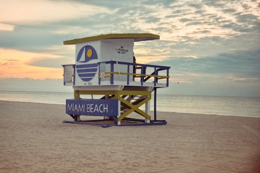 "5th Street: ""I feel like this is such an iconic one with the logo. It's the only one that says Miami Beach. It reminds me of the Welcome to Miami Beach sign when you come over on the MacArthur. It's probably the city's best ad on the beach."" (Sean R. Sullivan, seanwashere.com)"