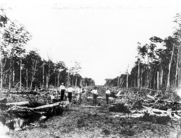 Lincoln Road in 1905