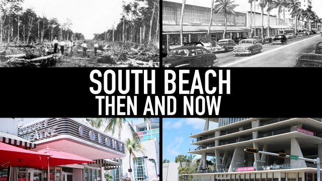 South Beach, then and now