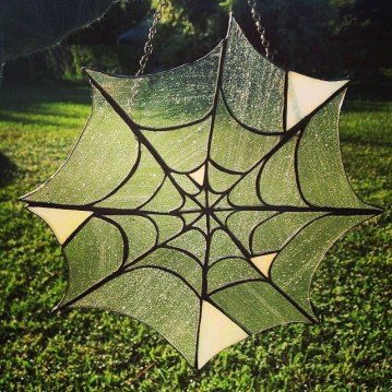 Crochet spider web from Coven of Craft. (Courtesy of Stitch Rock)