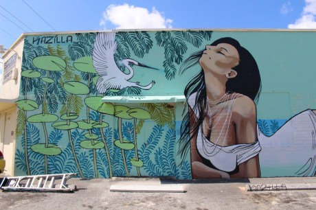 A mural in the Leah Arts District. (Courtesy of JLPR)