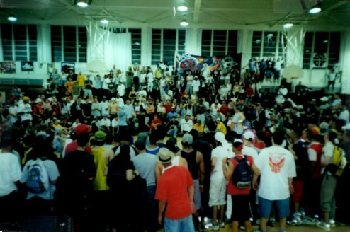 B-boy Masters Pro-Am in 2000. (Courtesy Rudi Goblin)