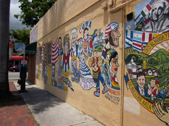 A mural in Little Havana. (Courtesy of Infrogmation of New Orleans/Flickr Creative Commons)