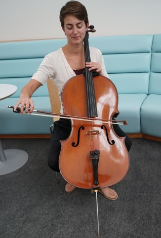 I played both piano and cello. I couldn't master both so I had to pick one, and I chose cello.