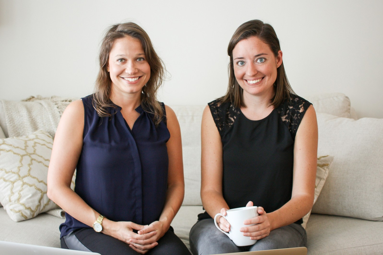 Katie Ghelli and Mary Biggins, cofounders of MealPal (Courtesy of Katie Perez/MealPal)