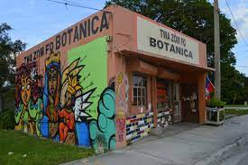 A botanica is a spiritual store where one can buy candles, herbs, and spiritual baths.