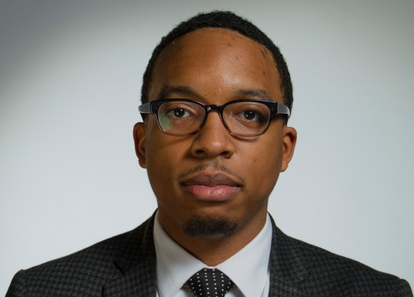 Vann R. Newkirk II, a writer at Daily Kos and the co-founder and co-chief scribe of Seven Scribes. (Courtesy of Black Tech Week)