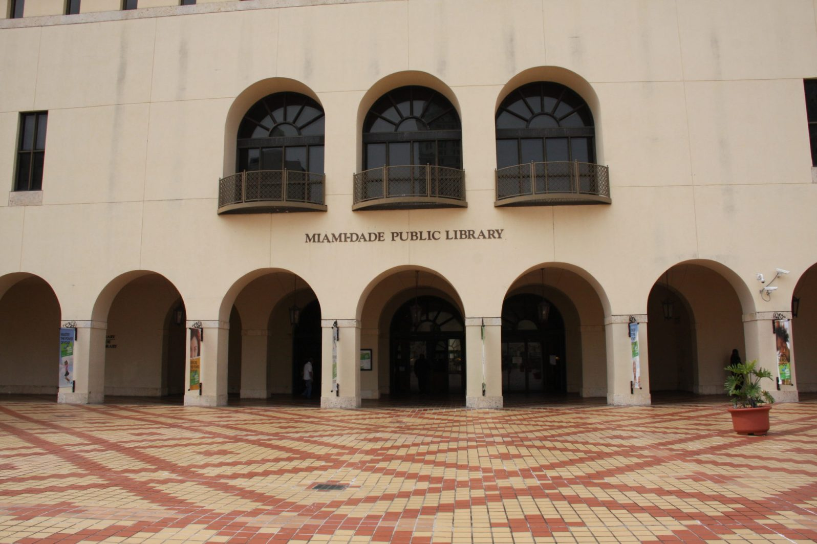 The Downtown Miami branch of Miami-Dade Public Library.