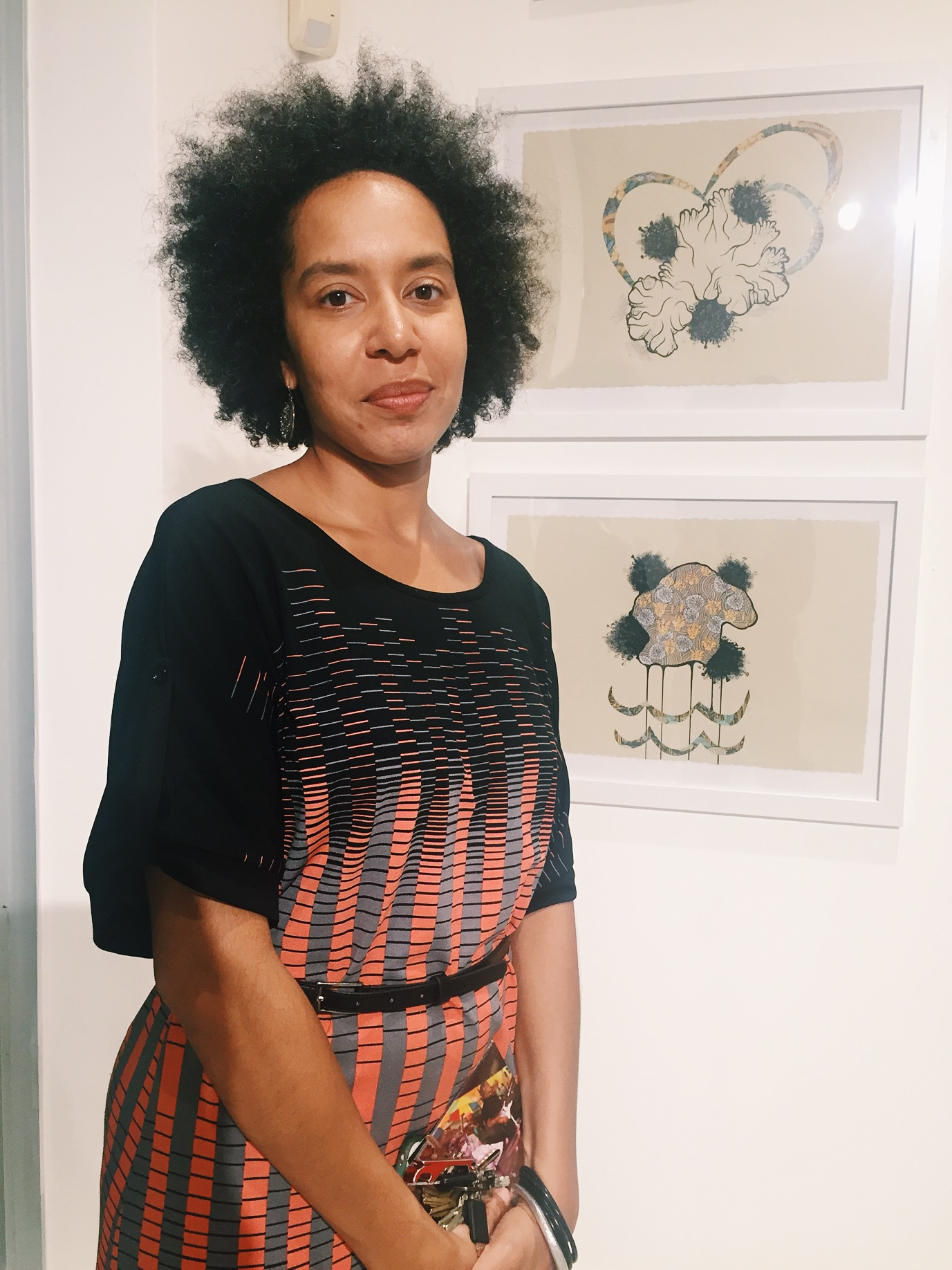 Maria Vickles, curator for the Little Haiti Cultural Center