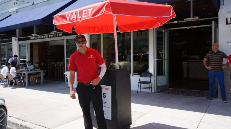 Central valet is $5 all day pick up and drop off around Miracle Mile.