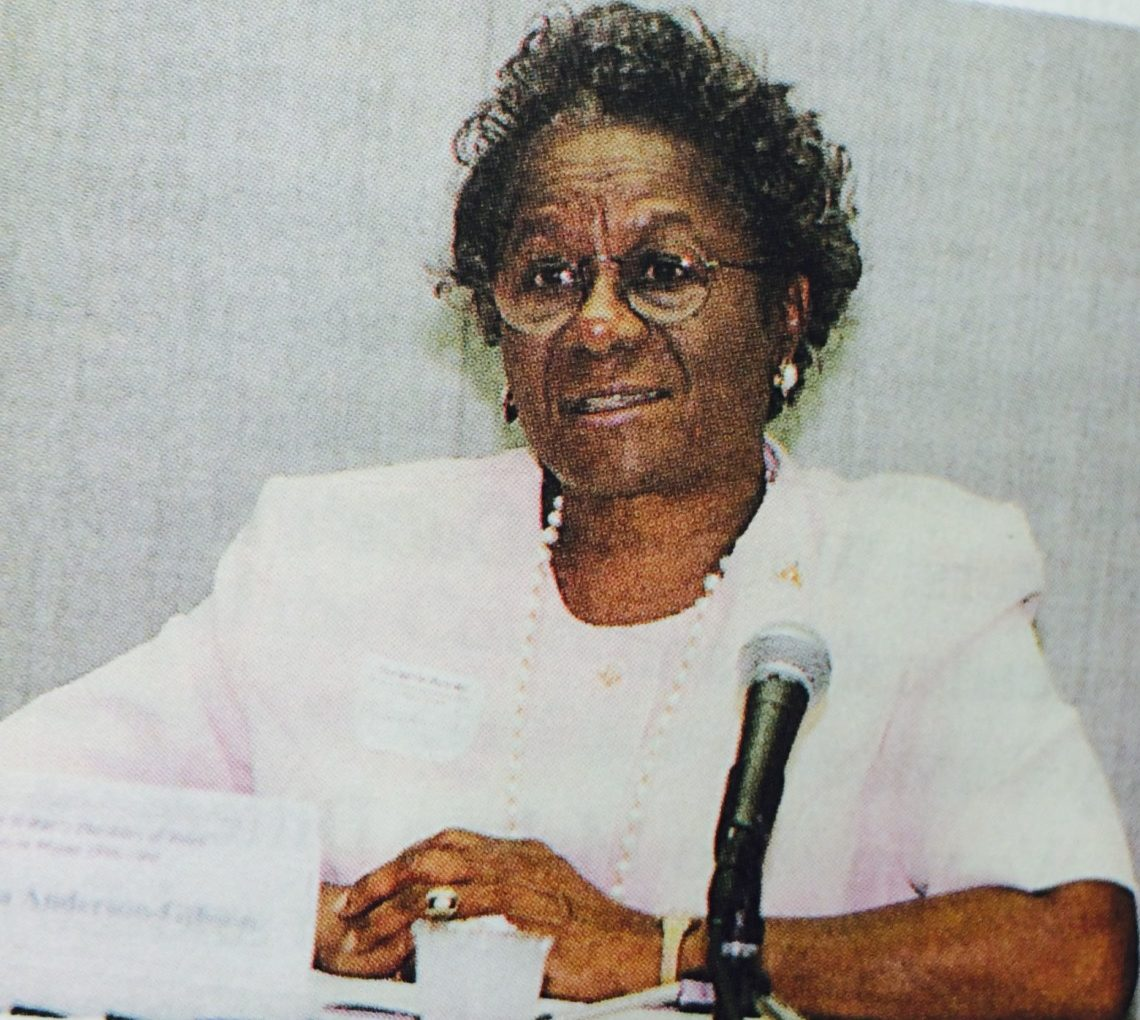Thelma Gibson (Courtesy of Forbearance : Thelma Vernell Anderson Gibson : the life story of a Coconut Grove native)