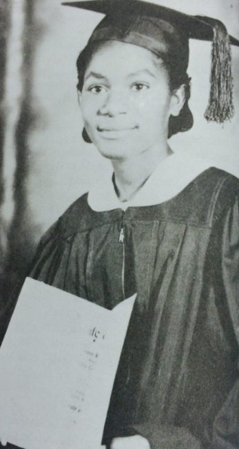 Gibson in ninth grade. (Courtesy of Forbearance : Thelma Vernell Anderson Gibson : the life story of a Coconut Grove native)