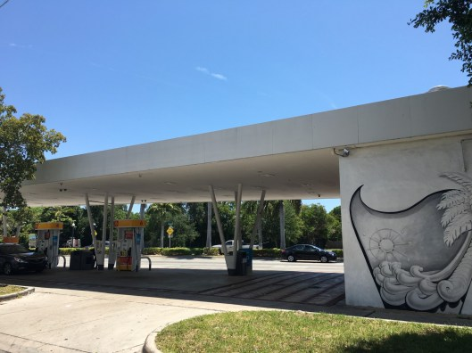 Biscayne Gas is a Shell gas station with a huge variety of beers.