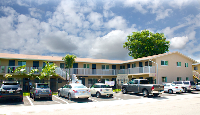The outside view of SFCLT's Wilton Manors project (Courtesy of South Florida Community Land Trust)