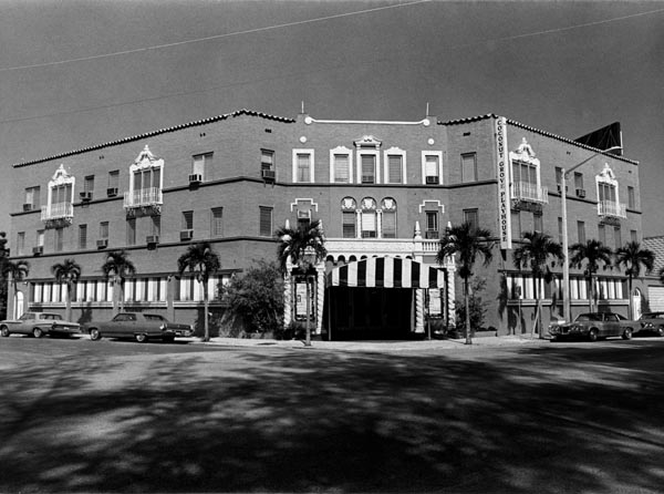 The Coconut Grove Playhouse in 1971 (Courtesy of HistoryMiami)