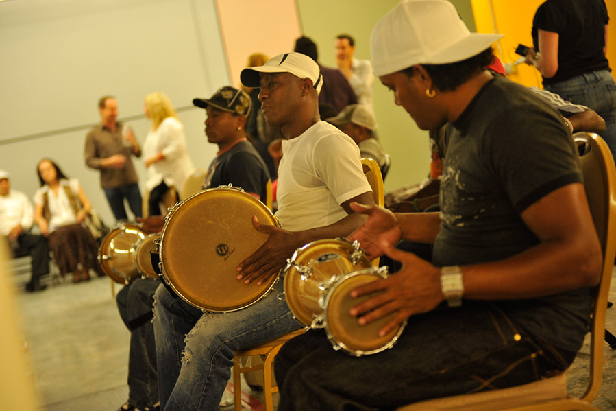 Los Muñequitos de Matanzas perform at Miami Light Project. (Courtesy of Miami Light Project)