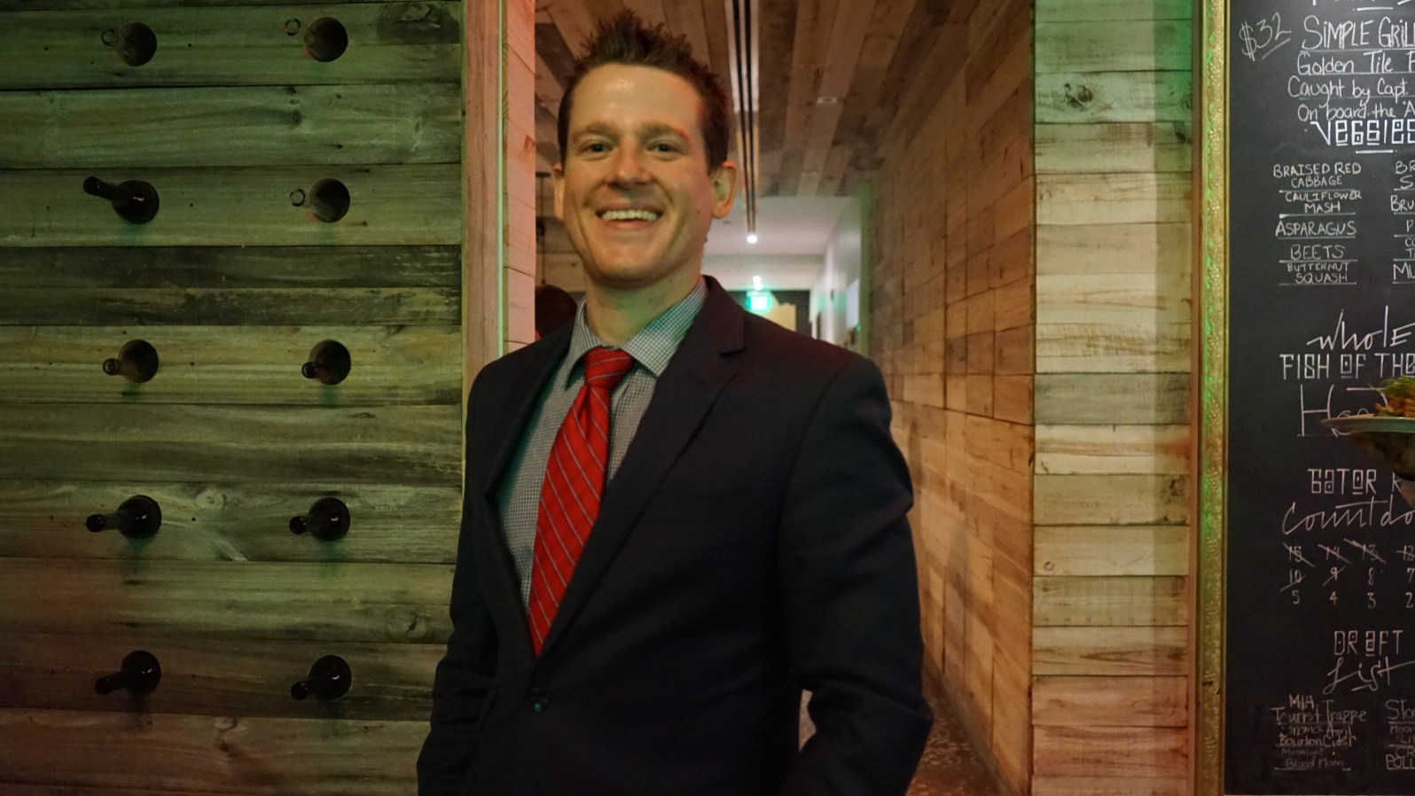 Colin Speer, general manager at The Spillover (Credit: Roshan Nebhrajani/The New Tropic)