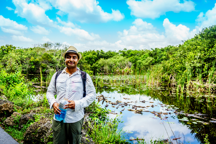 Tanjim Hossain, NSF Graduate Research Fellow investigating mosquito vector ecology & entomology and epidemiology & microclimatology