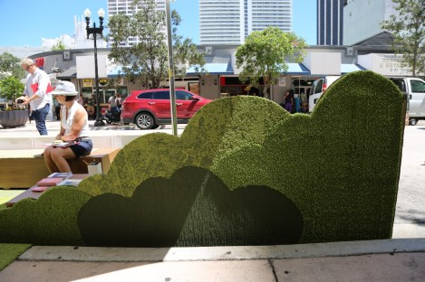 FLOR is the winner of the Professional Design category for their park in Downtown Miami. (Courtesy of Isabella Bru)