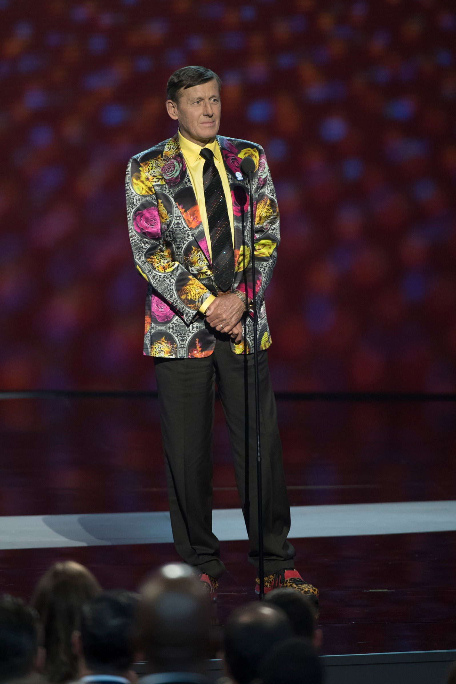 Craig Sager at the 2016 ESPYS. (Courtesy of Disney/ABC Television Group/Flickr Creative Commons)
