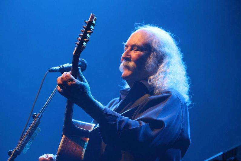 David Crosby of Crosby, Stills, and Nash (Courtesy of GroundUP Music Festival)