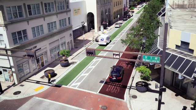 SE/SW 1st Complete Streets visualization