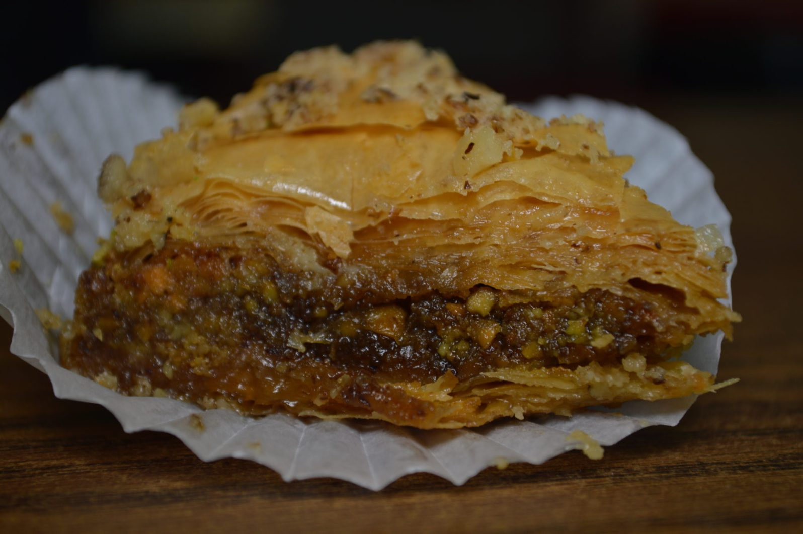 Ali Aziz makes 7 kinds of baklava in his coral gable shop. We're crazy about his flaky pastry.