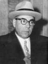 """The Boss"" - before there was a Bufalino, there was Castellammarese born Family boss Joseph Barbara Sr. - during his tenure, the Family base shifted to Binghamton, NY. Barbara also hosted the infamous Apalachin Meeting in 1957. Bufalino Family"