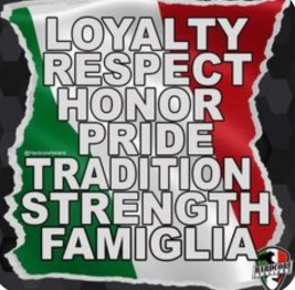 Sicilian tenets to live by!