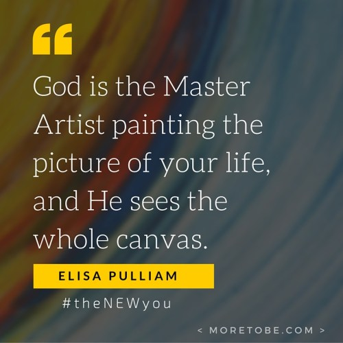 God is the Master Artist!