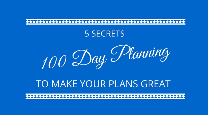 #16 5 Secrets of 100 Day Planning
