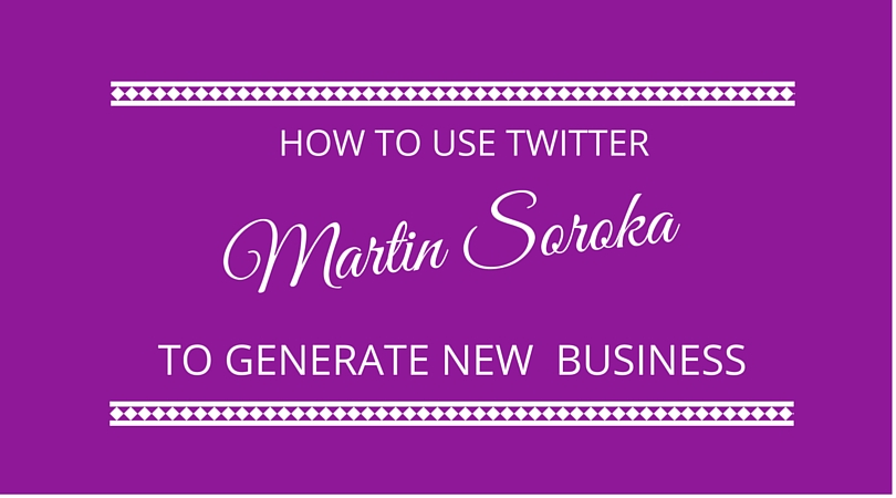 #21 How to Use Twitter to Generate New Business