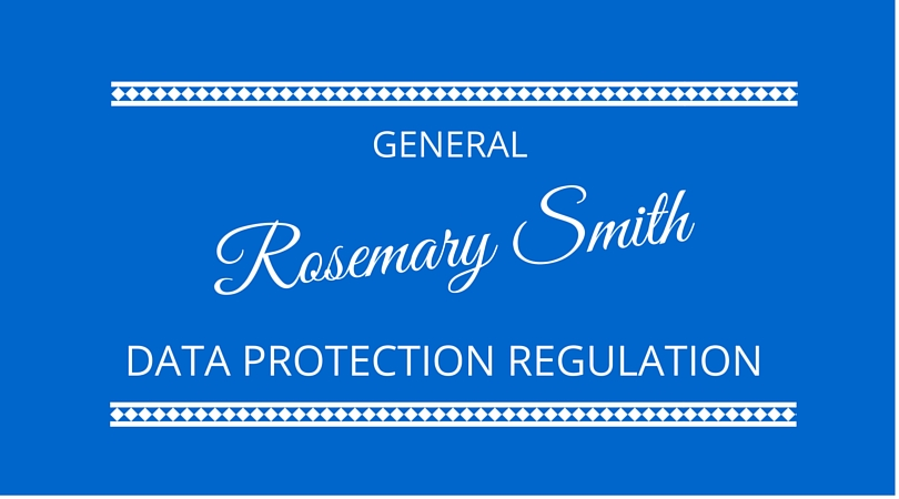 #29 General Data Protection Regulation (GDPR) with Rosemary Smith