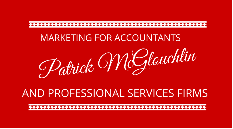 #90 Marketing for Accountants with Patrick McGloughlin